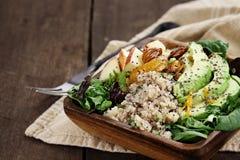 Insalata della quinoa e dell'avocado Immagini Stock Libere da Diritti