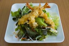 Insalata della tempura Fotografie Stock Libere da Diritti