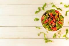 Insalata della verdura e della frutta immagini stock libere da diritti
