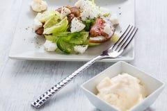 Insalata della verdura fresca Fotografia Stock Libera da Diritti