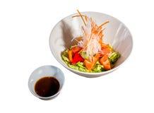 Insalata della verdura fresca fotografie stock