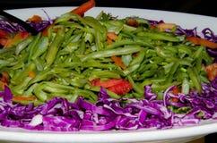 Insalata della verdura della primavera fotografia stock