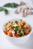 Insalata della vitamina con i pomodori Immagine Stock Libera da Diritti