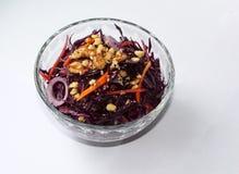 Insalata di cabbadge rosso Fotografia Stock