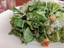 Insalata di Caesar nel ristorante della Tailandia Fotografia Stock Libera da Diritti