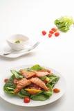 Insalata di color salmone 2 Fotografia Stock