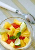 Insalata di frutta Immagini Stock