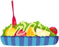 Insalata di frutta illustrazione di stock