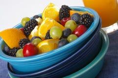 Insalata di frutta piena di sole Immagini Stock