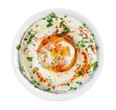Insalata di Hummus Fotografie Stock