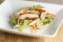 Insalata di pasta del pollo Fotografie Stock Libere da Diritti