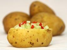 Insalata di patata immagini stock