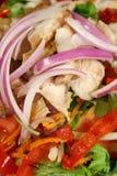 Insalata di pollo cotta 2 Immagini Stock