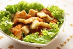 Insalata di pollo del Caesar Immagine Stock Libera da Diritti