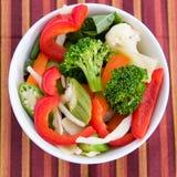 Insalata di verdure Immagine Stock
