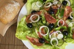 Insalata dietetica Immagini Stock