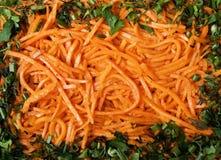 Insalata fatta della carota fotografia stock