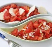 Insalata fresca dei pomodori Immagini Stock Libere da Diritti