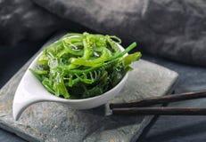 Insalata giapponese dell'alga Fotografia Stock