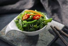 Insalata giapponese dell'alga Fotografia Stock Libera da Diritti