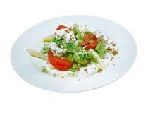 Insalata italiana con formaggio Fotografie Stock Libere da Diritti