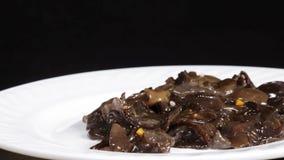 Insalata marina del fungo stock footage