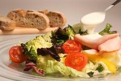 Insalata mixed fresca delle verdure Fotografie Stock