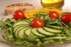 Insalata mixed fresca delle verdure Fotografie Stock Libere da Diritti