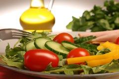 Insalata mixed fresca delle verdure Immagine Stock Libera da Diritti