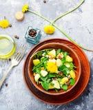 Insalata naturale di dieta Fotografie Stock