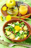Insalata naturale di dieta Immagine Stock
