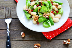 Insalata nutriente e sana con i fagioli Fotografie Stock