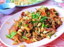 Insalata piccante tailandese Immagine Stock