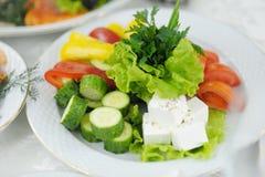 Insalata sana della verdura fresca dell'alimento Fotografia Stock