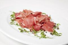 Insalata secca della carne di maiale Immagini Stock Libere da Diritti