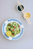 Insalata tailandese del cetriolo Immagine Stock