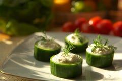 Insalata vegetariana Fotografia Stock Libera da Diritti