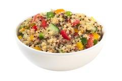 Insalata vegetariana della quinoa Immagine Stock Libera da Diritti