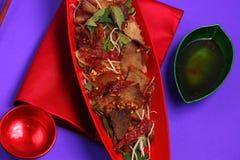 Insalata Vietnam del manzo Immagini Stock