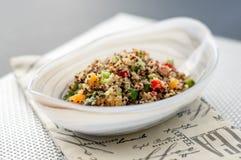 Insalatiera della quinoa fotografia stock