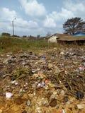 Insalubrity w krajach afrykańskich MBatto w Cote d «Ivoire obrazy royalty free