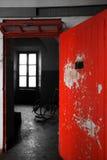 Insane asylum. The interior of an ex insane asylum in italy royalty free stock photos