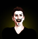Insane Guy Fawkes Stock Images