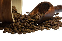 Insatiable taste of coffee to start the day Royalty Free Stock Images