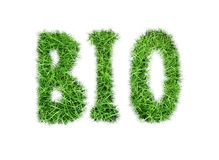 Inschrijving ` BIO` Stock Foto's