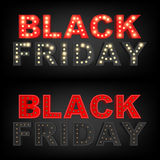 Inscrição 2016 abstrata de Black Friday do vetor Para o projeto criativo da arte, lista, página, estilo do tema do modelo, bandei Imagem de Stock