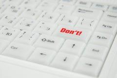 Inscrição conceptual do teclado Imagens de Stock Royalty Free