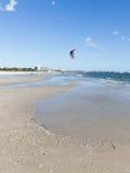 Inscrição de Austrália na areia Fotos de Stock Royalty Free