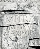 Inscrição romana Imagem de Stock Royalty Free