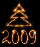 Inscripción 2009 Imagen de archivo libre de regalías